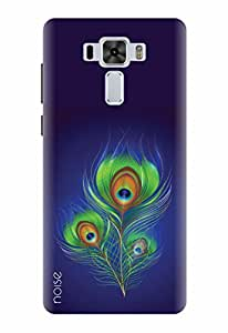 Noise Designer Printed Case / Cover for Asus ZenFone 3 Laser ZC551KL with 5.5 inch screen size / Nature / Peacock Feather Design
