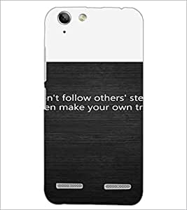 PrintDhaba Quote D-4720 Back Case Cover for LENOVO A6020a46 (Multi-Coloured)