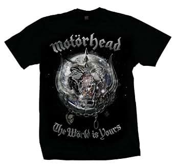 Motörhead - The World Is Yours Album T-Shirt - Medium