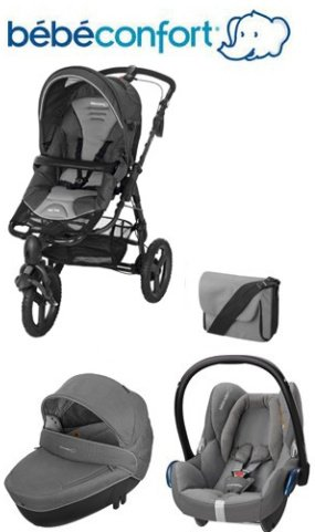 Bebe-Confort-Trio-Travel-System-High-Trek-Windoo-CabrioFix-with-FamilyFix-Base-Concrete-Grey