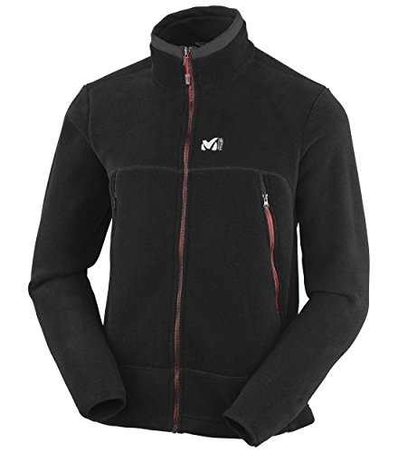 Millet Great Alps Giacca Pile 200, Nero(Noir/Rouge), M