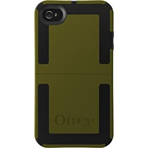 Apple iPhone 4 (Verizon) (AT&T) Otterbox iPhone 4 Reflex Case - Green and Black