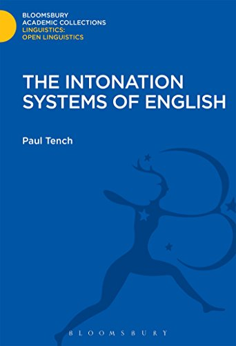 The Intonation Systems of English (Linguistics: Bloomsbury Academic Collections)