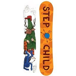 Stepchild Winter 13 Joe Sexton Snowboard Reverse Camber 150