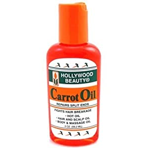Hollywood Beauty Carrot Oil 2 oz.