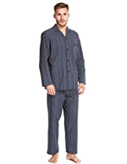 Pure Cotton Multi-Striped Pyjamas