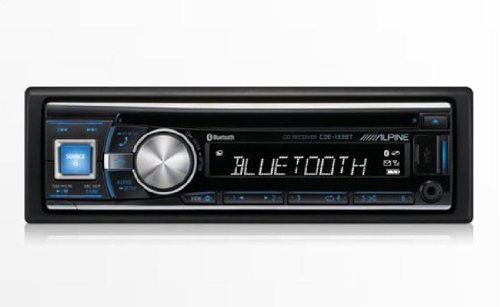 CDE-HD137BT - Alpine In-Dash 1DIN CD/MP3/USB Receiver with Bluetooth and HD Radio