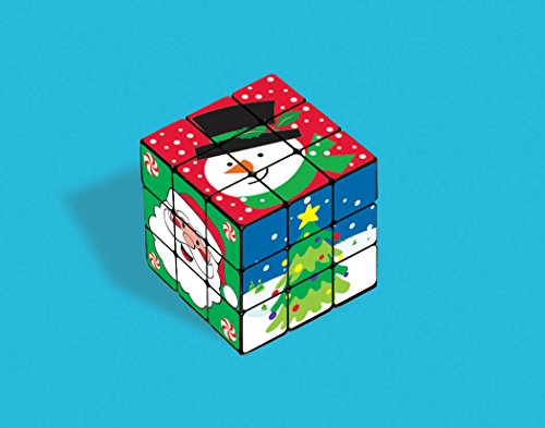 Amscan Christmas Plastic Puzzle Cube Party Favorsm- 6 Cubes Per Package - 1
