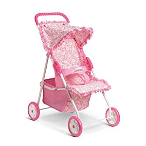 Amazon Com American Girl Bitty S Light Pink Stroller For