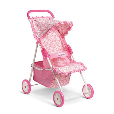 American Girl Bitty's Light Pink Stroller for Dolls Amazon.com