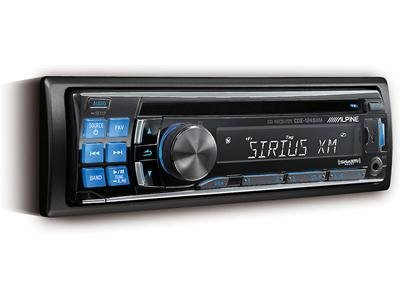 Alpine Cde-124Sxm Cd Receiver With Included Cd Mp3/Wma/Siriusxm Tuner