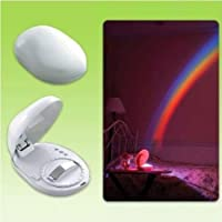LED Night Light Lamp Rainbow In My Room Projector from COCO