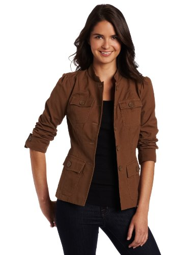 Kut From The Kloth Women's Button Down Canvas Jacket
