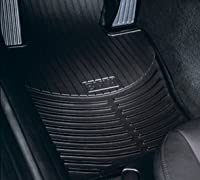 Bmw All Weather Front Rubber Floor Mats 325 330 Coupe 2000-2006 - Black by BMW