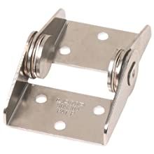 Friction Hinge, 304 Stainless Steel, 1-49/64&#034; Leaf Height, 1-47/64&#034; Open Width, 30.4 lbs/in Torque (Pack of 1)