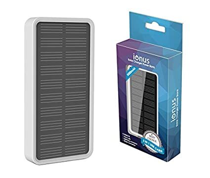 Ionus Solar Charger 5000mAh Power Bank