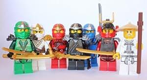 LEGO Ninjago - Samurai X (Nya), Wu + 5 ZX Ninjas - Lloyd, Kai, Cole, Jay & Zane