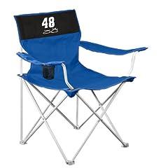 Nascar Jimmie Johnson Canvas Chair by Logo