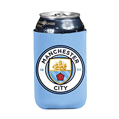 English Premiership Manchester CITY Unisex Coozie, Powder, One Size