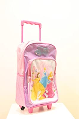Ready Steady Bed Disney Princess Kids Wheeled Bag, Box Style And Carry Handle Zipped by Ready Steady Bed