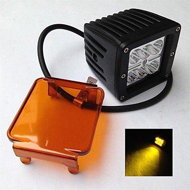 Commoon 18W 12/24V Creechip Led Work Light Led 814 For Cars Or Trucks