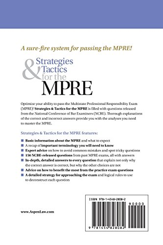 Preparing for the MPRE - NCBE