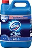 Domestos original bleach to leave surfaces hygienically clean, 5 litre bottle, PACK of 4