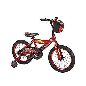 Huffy Disney Cars Bike with Training Wheels (16-inch) by Huffy