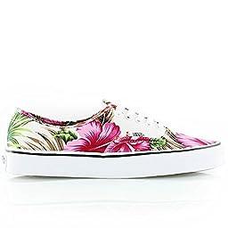 Vans Unisex Hawaiian Floral Skateboarding Shoes-Hawaiian Floral-6-Women/4.5-Men