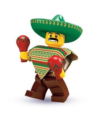 LEGO Maraca Man Series 2 MiniFigure - 1