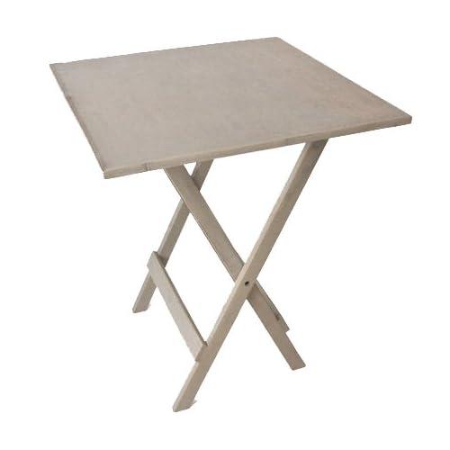 pf-009 59.5x59.5x71.0 WHITE-WASH (ヨンユー) 4U 折りたたみ テーブル 木製 四角テーブル 正方形 折り畳みテーブル 机 インテリア ダイニング アジアン家具 木 おしゃれ 北欧 屋外 折り畳みテーブル ウッドテーブル アンティーク シンプル 白 家具