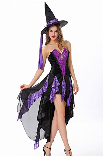 Ladies Sexy Charming Witch, One Size