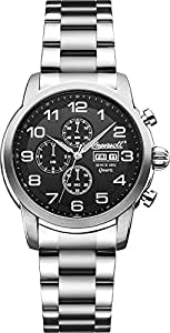 Ingersoll Men's INQ018BKSL Mount Analog Display Japanese
