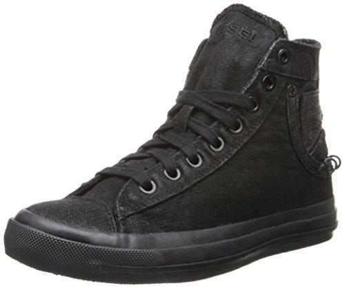 Diesel Women'S Magnete Exposure Iv W Fashion Sneaker,Black,6 M Us