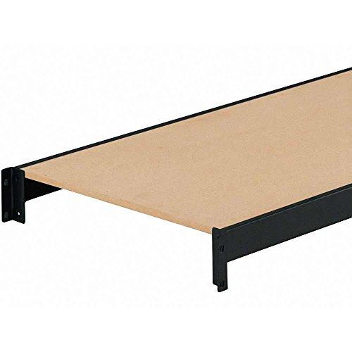 edsal erz601866pb3 muscle rack black steel bulk storage. Black Bedroom Furniture Sets. Home Design Ideas