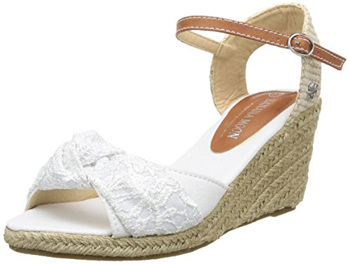 Banana Moon - Whitewater, Sandali da donna, bianco (white), 41