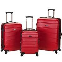 Rockland Melbourne 3-Piece Hardside Spinner Luggage Set (20