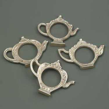 Teapot Shaped Napkin Rings