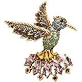 Jay Strongwater Hummingbird Brooch