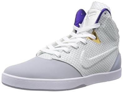 Buy Nike Mens Kobe 9 NSW Lifestyle , WOLF GREY WHITE by Nike