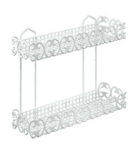 Metaltex Florenz 2-Tier Rectangular Bathroom Shelf
