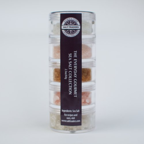 SALT TRADERS Everyday Gourmet Sampler Collection.