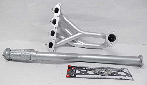 Exhaust Header Manifold Stainless Steel Jdm Performance For 97-01 Tiburon 2.0L