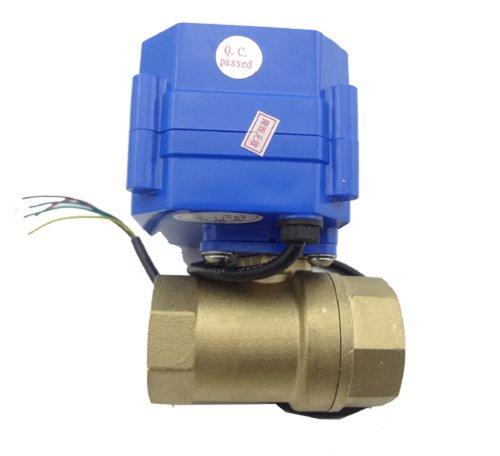 "MISOL Motorized Ball Valve, 220v, 2 way, G1/2"" DN15, electrical valve,motorized valve/valvola a sfera motorizzata/elettrovalvola/valvola a sfera elettrica/valvola motorizzata"