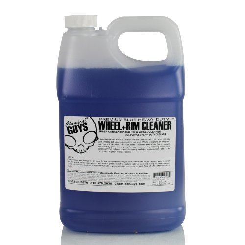 Chemical Guys Cld_107 - Premium Blue Wheel & Rim Cleaner & Degreaser (1 Gal) front-209222