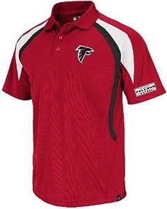 Atlanta Falcons Mens Red Field Classic VI Polo by VF by VF