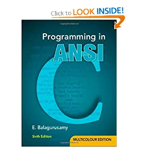 Programming in C by Balaguruswamy