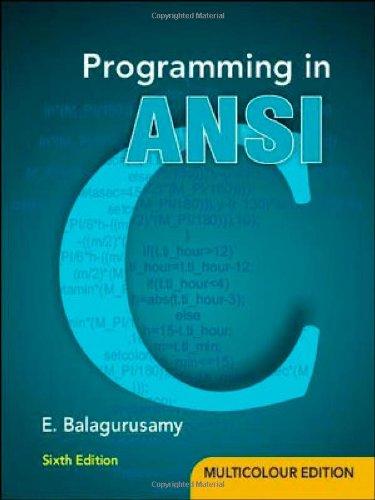 Programming in ANSI C Image