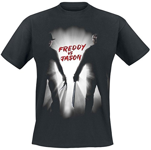 A Nightmare on Elm Street Freddy VS Jason T-Shirt nero XXL