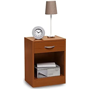 Comodino in kit semplice camera da letto legno ciliegio for 5 case kit da letto